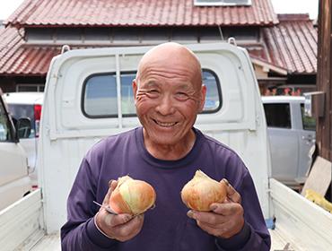 神戸市産玉ねぎの生産者